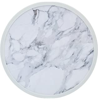 boston warehouse lazy susan turntable carrera marble print