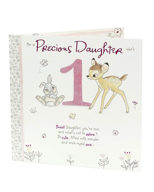 1st Birthday Card Daughter