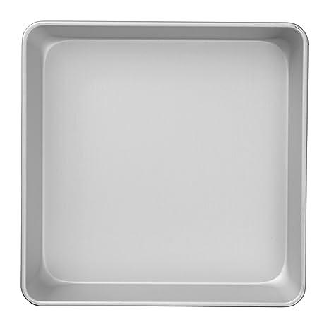 Wilton Performance Pans - Molde para tartas y pasteles cuadrado (25,4 x 5