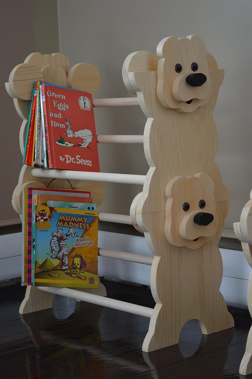 Stackable Bear Bookshelf