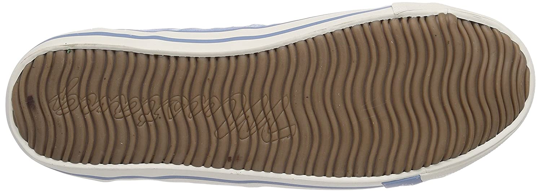 Mustang Damen 1099-401 Slipper, Blau Pastellblau) (832 Pastellblau) Blau 929b30