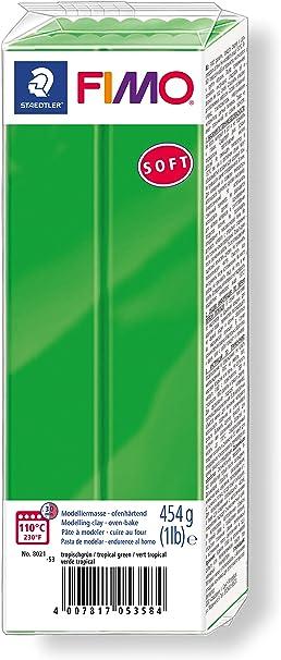 tropischgrün 57 g FIMO SOFT Modelliermasse ofenhärtend