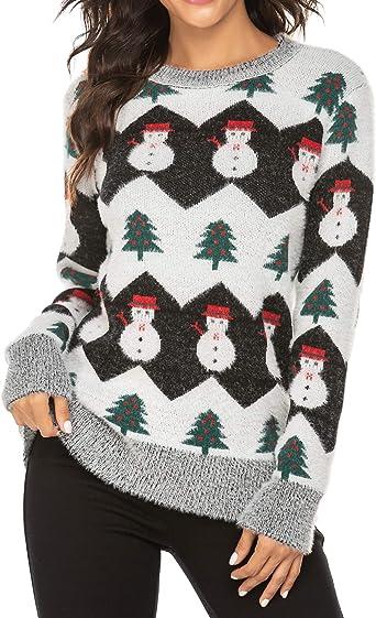 snowflake pattern sweater