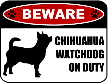 Silhouette on Duty Laminated Dog Sign Beware Guard Basset Hound