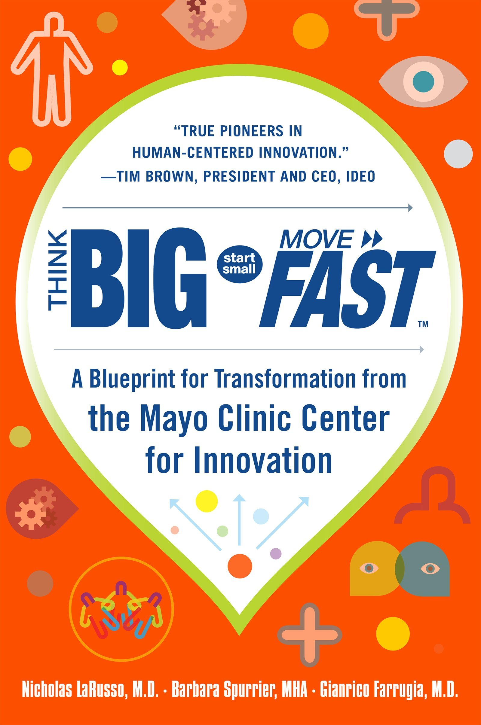 Think Big, Start Small, Move Fast: A Blueprint for Transformation from the Mayo Clinic Center for Innovation pdf epub
