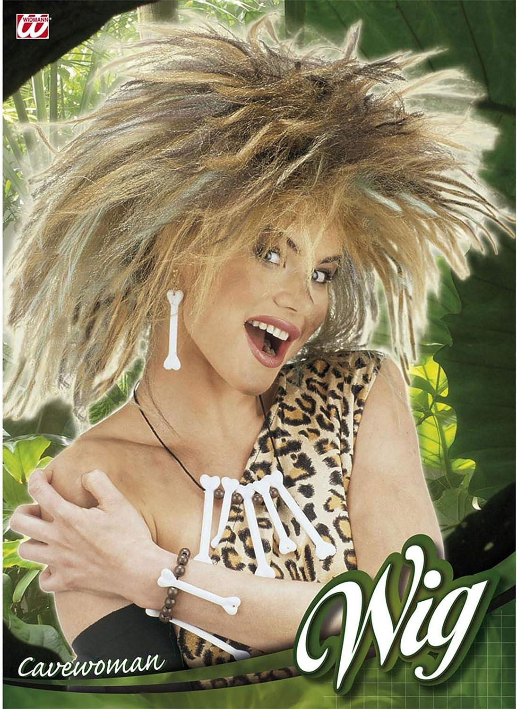 Modello Donna Delle Caverne Parrucca in Sacchetto Widmann