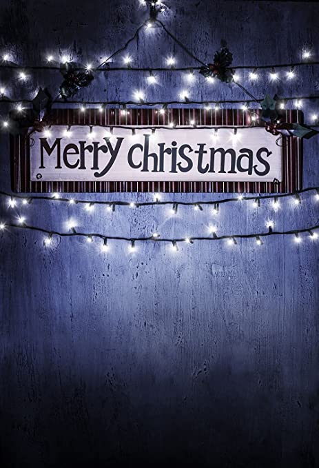 Fus 5x7ft Christmas Party Silk Photography Background Merry Christmas Backdrop Ft 4209