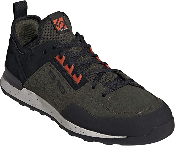 Five Ten Mens Dragon VCS Climbing Shoes Black Orange Sports Breathable
