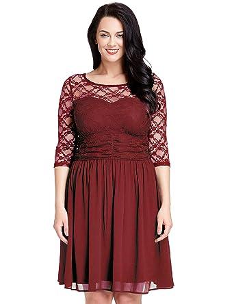 Plus Lace Dress