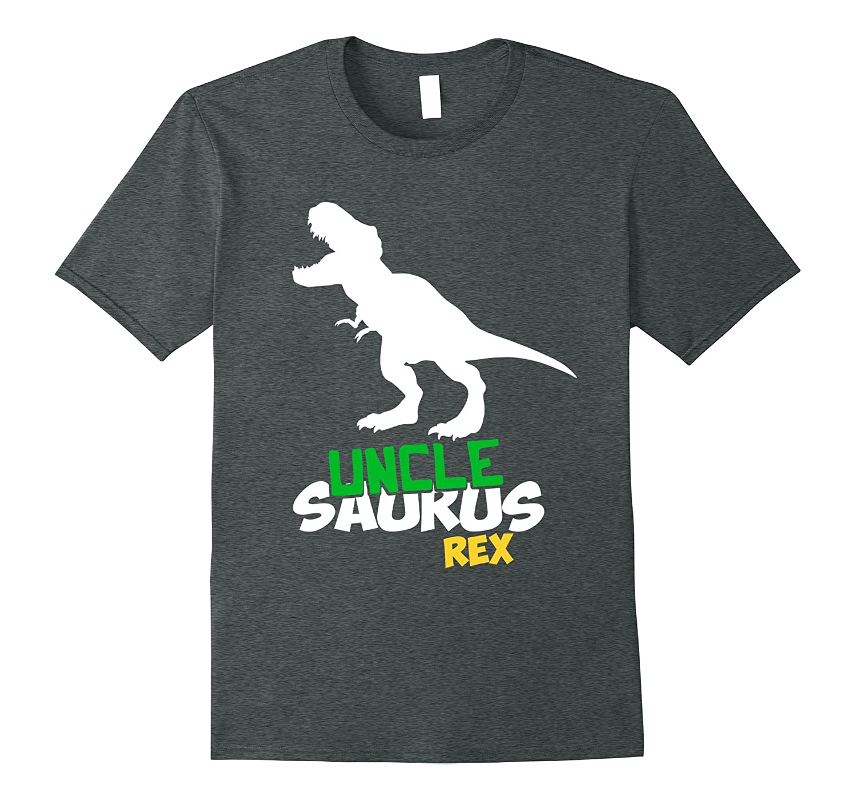 Uncle Saurus Shirt Dinosaur Heather-Awarplus