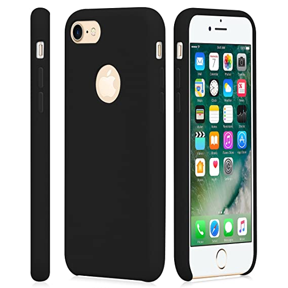 Amazon Com Iphone 7 Case Cindick Soft Silicone Rubber Shockproof