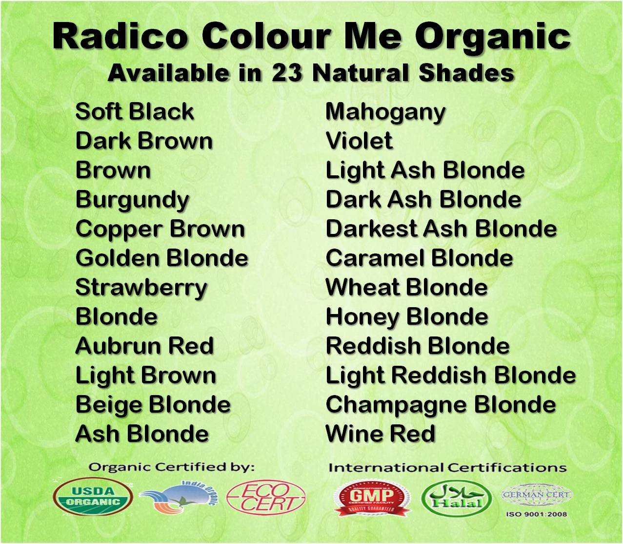 Buy Radico-Certified Organic Soft Black (Twin Pack) Hair Colour ...