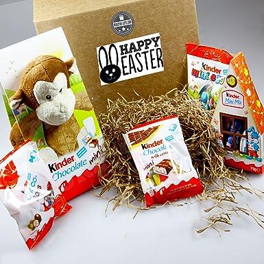 Kinder surprise easter monkey hamper gift box by moreton gifts kinder surprise easter monkey hamper gift box by moreton gifts negle Images