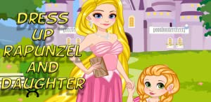 Dress up Rapunzel and daughter from TheMegoGG