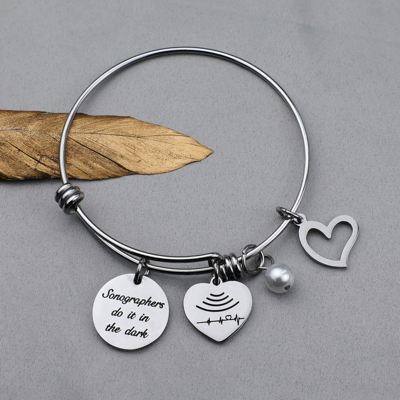 FEELMEM Sonographer Prayer Wallet Card Sonographer Gifts Medical Ultrasound Tech Gifts Wallet Card Insert Ultrasound Tech Jewelry Radiologist Gift X Ray Technician Gift