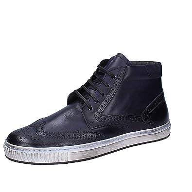 EuAmazon itScarpe Pelle Verri Sneaker 45 Blu Bruno Uomo FcJTlK1