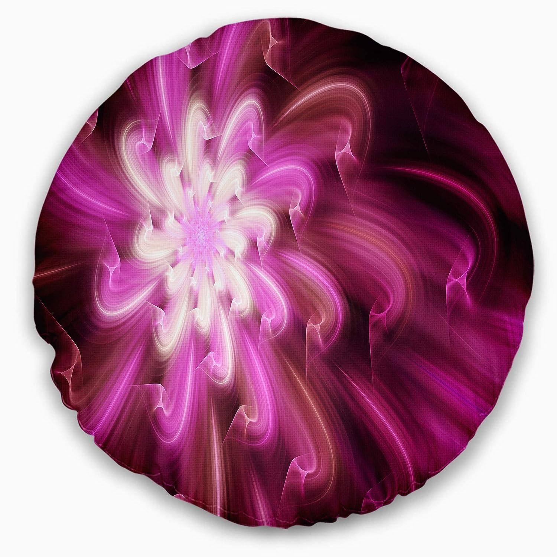 Sofa Throw Pillow 20 Designart Cu15578 20 20 C Exotic Dance Of Purple Flower Petals Floral