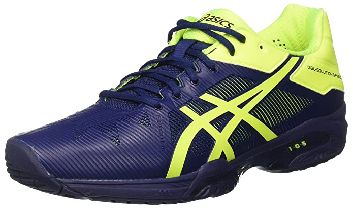 7aca896e8a Asics Gel-Solution Speed 3, Scarpe da Tennis Uomo: Amazon.it: Scarpe e borse