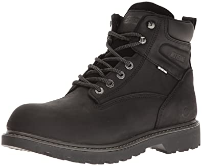 "Image result for Wolverine Men's Floorhand Waterproof 6"" Soft Toe Work Boot"