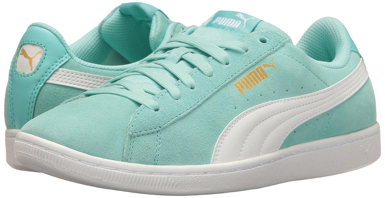 PUMA Women's Vikky Sneaker Blue-puma B01LPWMTNC 6 M US|Aruba Blue-puma Sneaker White 3dbae9