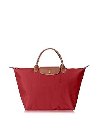 c6137700f2e8 Amazon.com  Longchamp Le Pliage Ladies Medium Nylon Tote Handbag  L1623089545  Watches