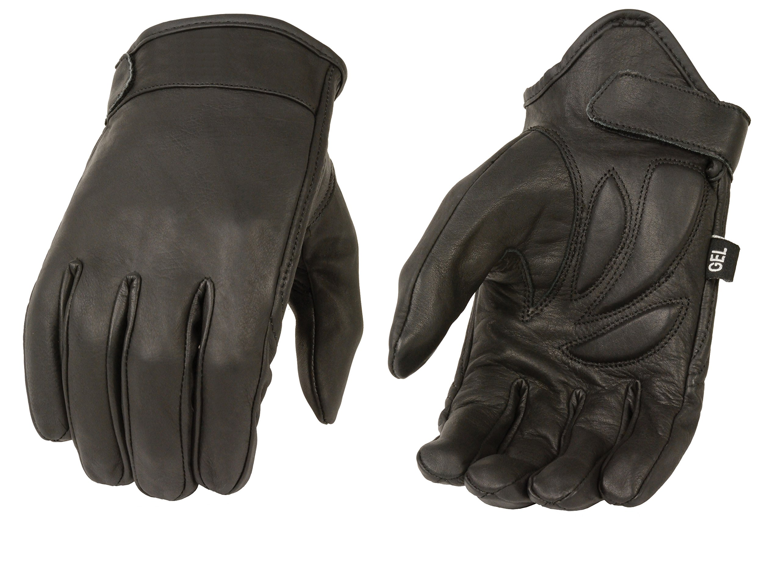 Milwaukee MG7510-BLK-L Men's Summer Cruising Gloves (Black, Large) by Milwaukee