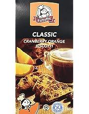PATSYPIE Gluten Free Cranberry and Orange Biscotti, 165g