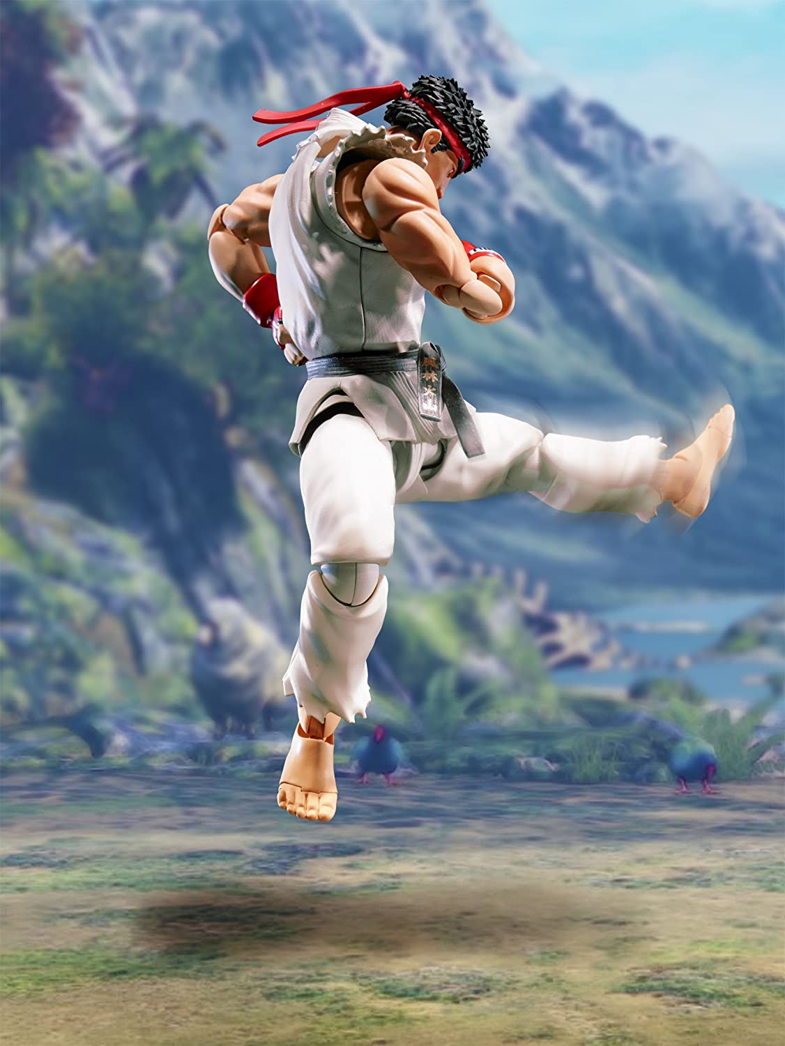 Bandai Tamashii Nations S.H Figuarts Ryu Street Fighter Action Figure 150mm BLYM8 BAN05193