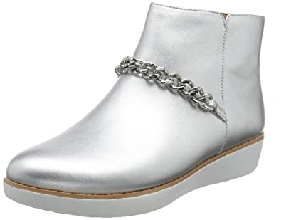 0579b55bfce9 Fitflop Women s s Pia Chain Metallic Ankle Boots  Amazon.co.uk ...