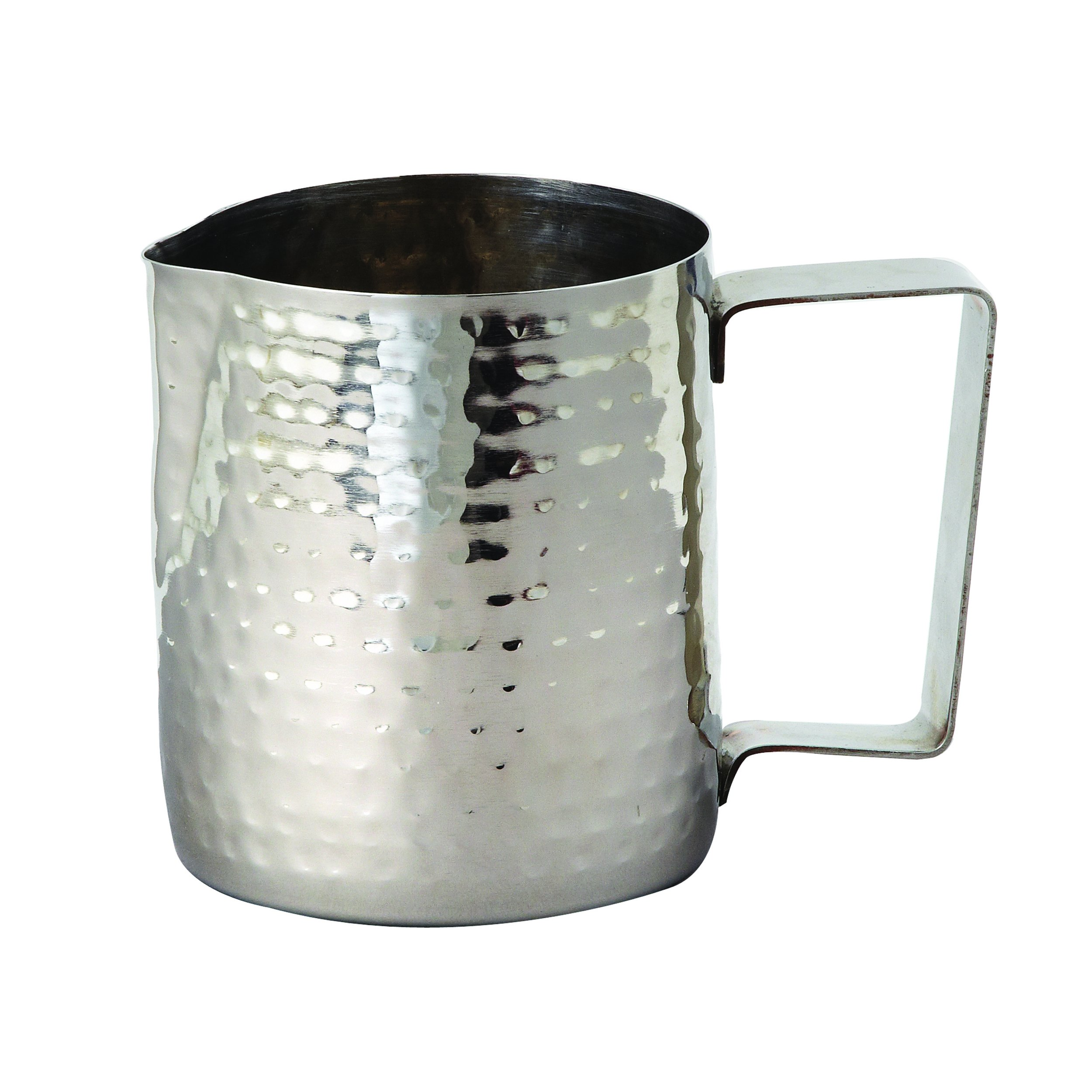 Elegance Hammered Stainless Steel Milk Frothing Pitcher