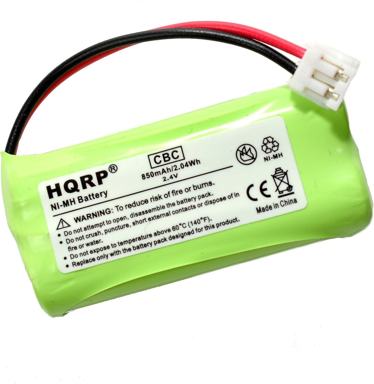 HQRP batería de teléfono inalámbrico para en y T/Lucent BT18433, BT28433, General Electric GE 5 – 2734, Dorado Peak GP70AAAH2BMJZR Repuesto: Amazon.es: Electrónica