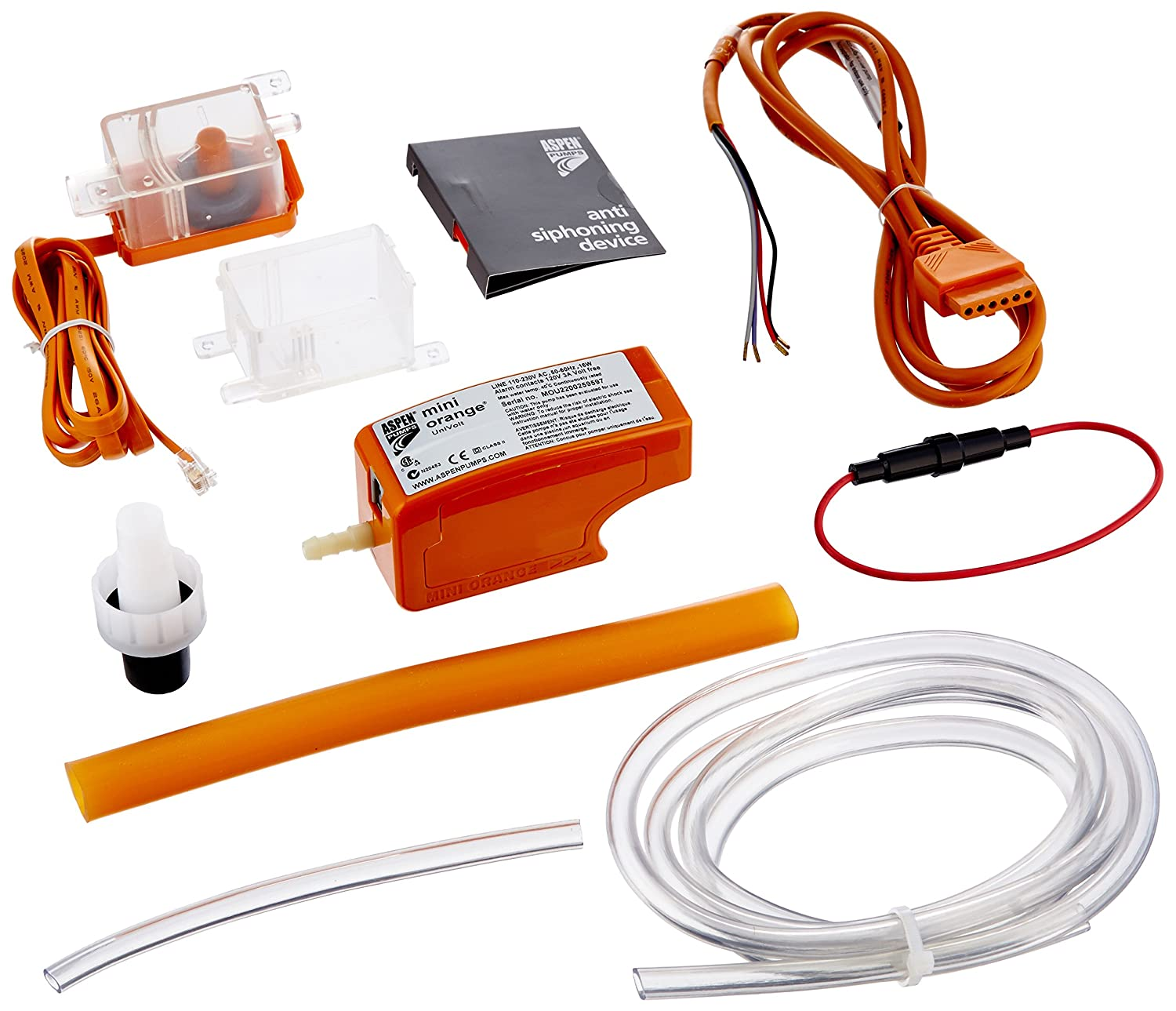 81ok0tXfJrL._SL1500_ amazon com rectorseal 83909 aspen mini orange 100 250v condensate aspen pumps mini orange wiring diagram at edmiracle.co