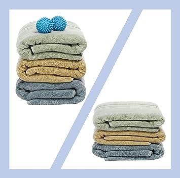 nalmatoionme Juego de 4 Magic detergente secador de lavandería bola bolas: Amazon.es: Bricolaje y herramientas