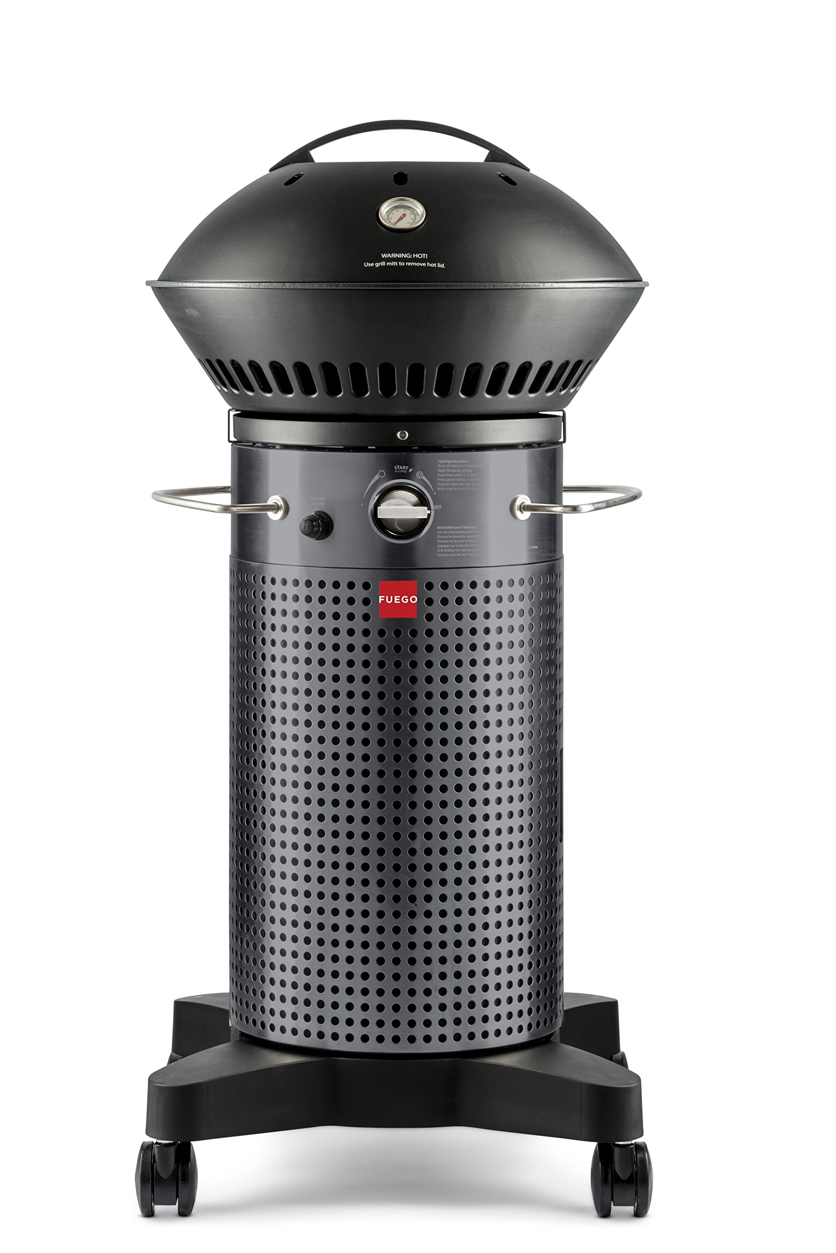 Fuego Element F21C Carbon Steel Gas Grill LP