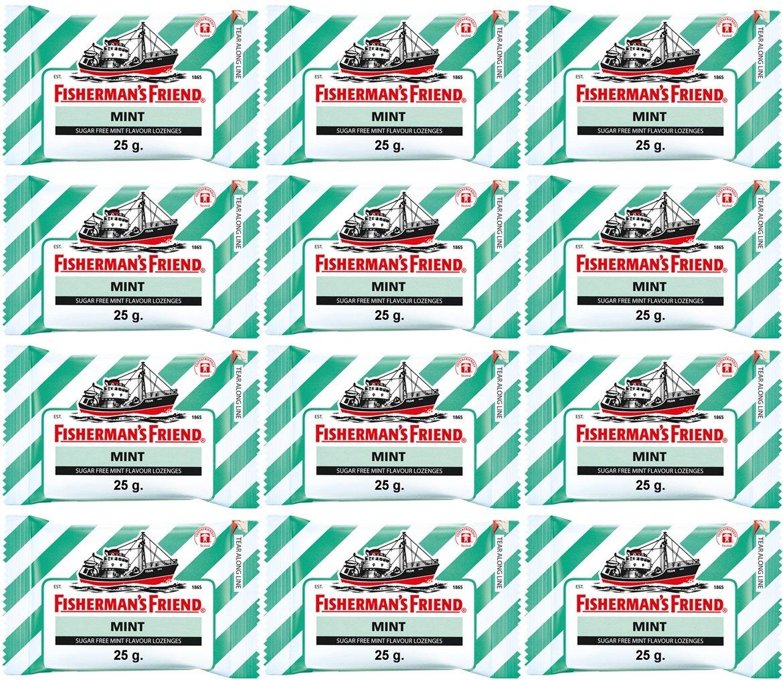 Fisherman's Friend Sugar Free Mint Flavour Lozenges 25 g/pack (12 packs/box)