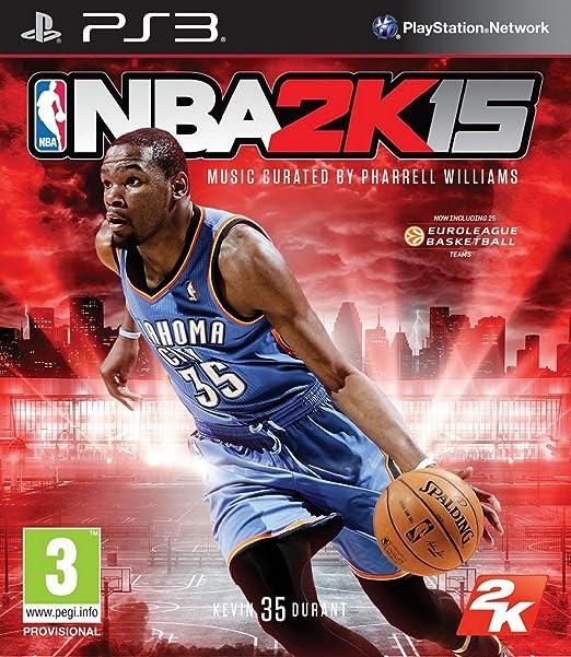 NBA 2K15 para PS3 (manual de instrucciones en Inglés): Amazon.es ...