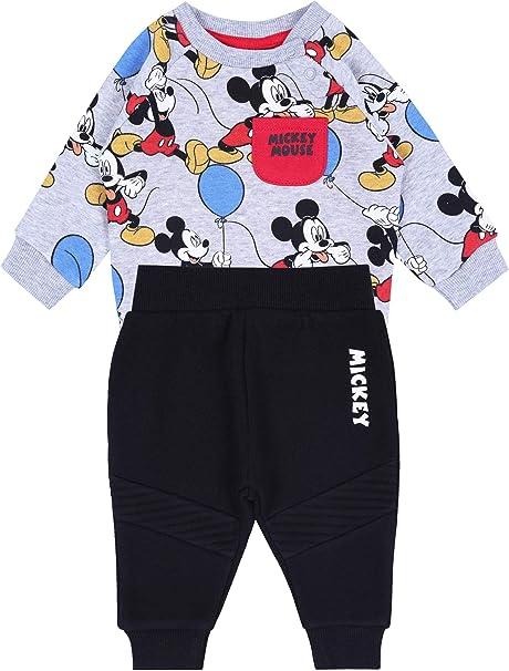 Survêtement Mickey Disney Gris et Noir: Amazon.