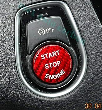 Max Auto Carbon Rot Carbon Look Gfk Start Stop Knopf Button Cover Passend M135i M140i M235i M240i 335i 340i 435i 440i F20 F21 F22 F23 F30 F32 F34 F33 F36 Amazon De