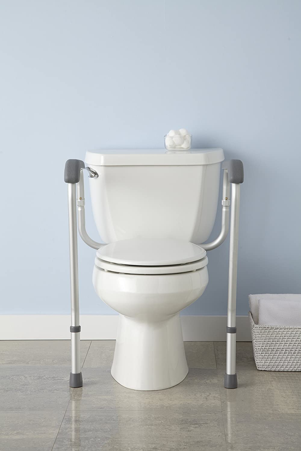 Buy Medline Toilet Safety Rails Online At Low Prices In India   Amazon.in