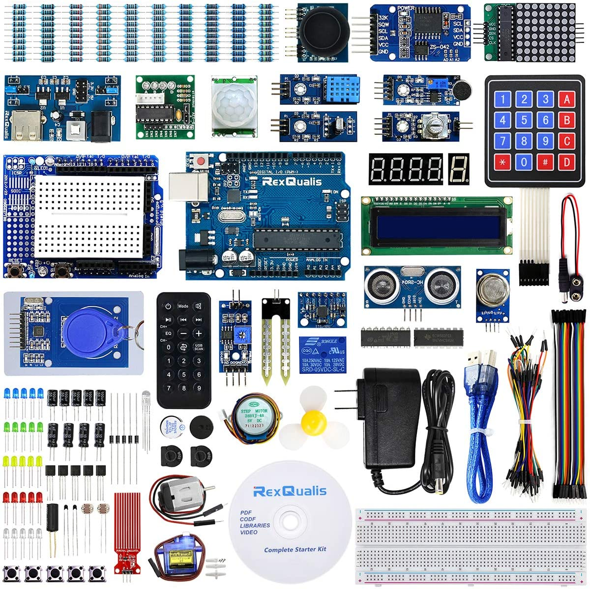 Professional Beginner Starter Electronic Component Kits For Arduino Project