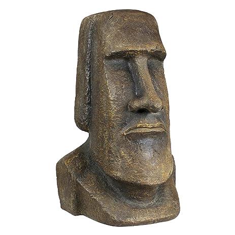 Design Toscano Easter Island Ahu Akivi Moai Monolith Statue: Extra Large