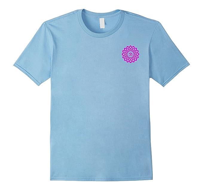 Amazon Sahasrara Chakra Symbol Yoga Tshirt Small Print Clothing