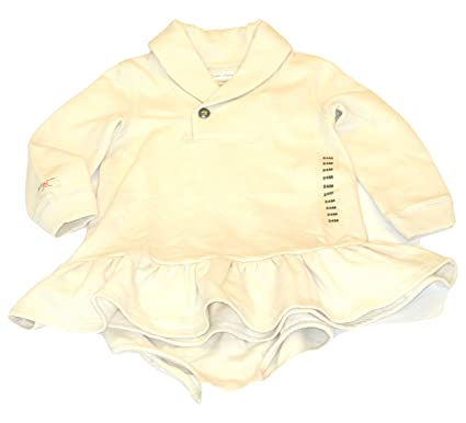 b567fac1c Amazon.com  Ralph Lauren Baby Girls Shawl Collar Dress and Bloomers ...