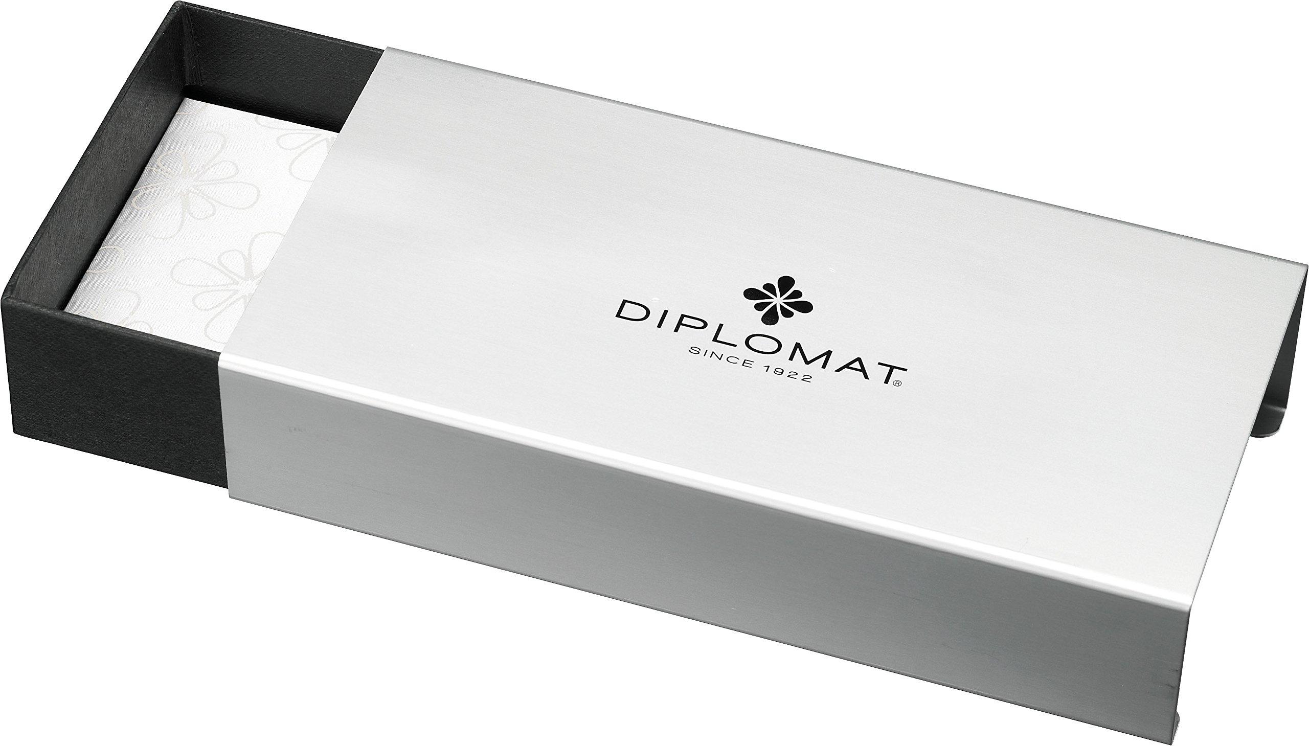 Diplomat AERO orange, fountain pen, medium nib M by Diplomat (Image #2)