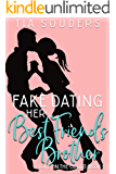 Fake Dating Her Best Friend's Brother: A Sweet Basketball Romance (Love on the Court Book 1)