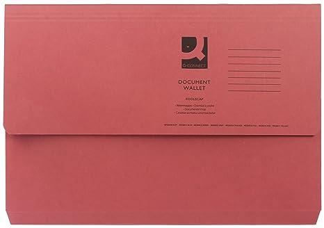 10 25 50 x 285gsm Cardboard Foolscap Envelope Folders Filing Document Wallets
