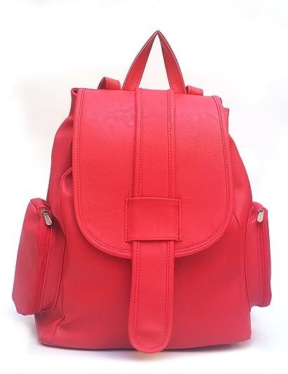 877e41f06f Vintage Women s Backpack Handbag (Red