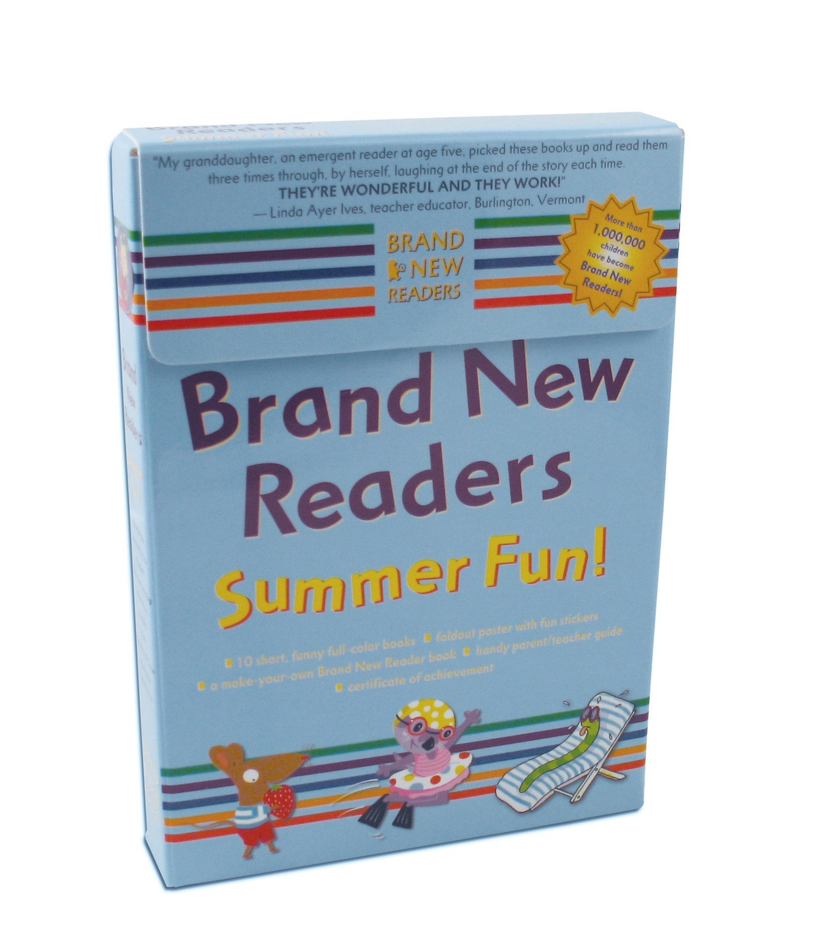 Brand New Readers Summer Fun! Box by Candlewick Press