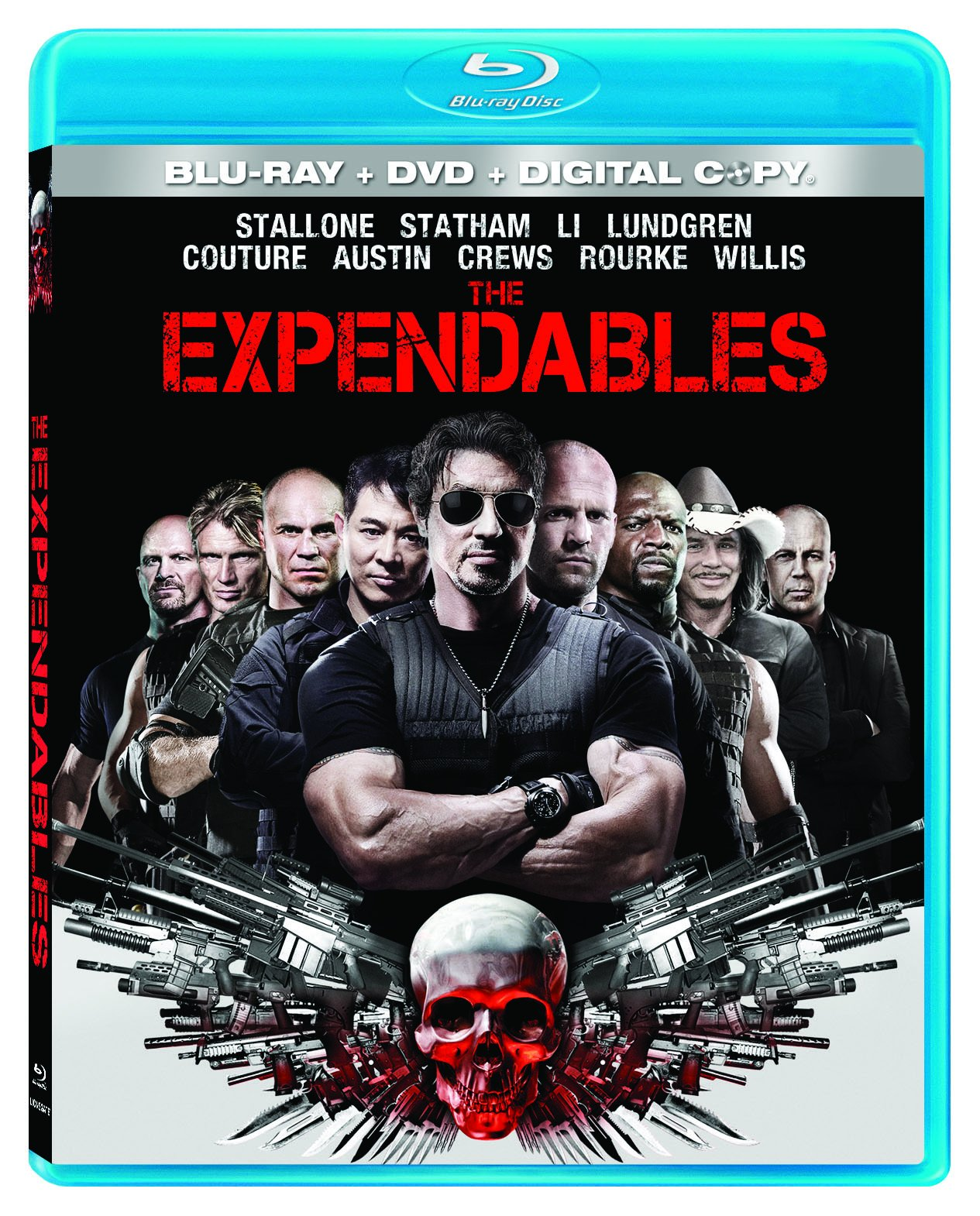 Blu-ray : The Expendables (With DVD, Digital Theater System, Widescreen, Digital Copy, )