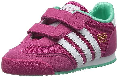 adidas Dragon CF I, Calzado de Primeros Pasos bebé, Rosa (Pink Buzz S10 / Running White/Solo Mint F14-St), 20 EU: Amazon.es: Zapatos y complementos